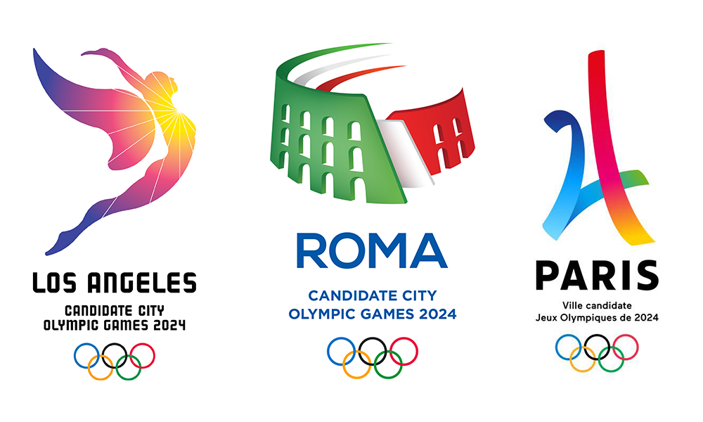 the 2024 olympic candidate city logos who wins  well olympic rings clipart free olympic rings clipart free