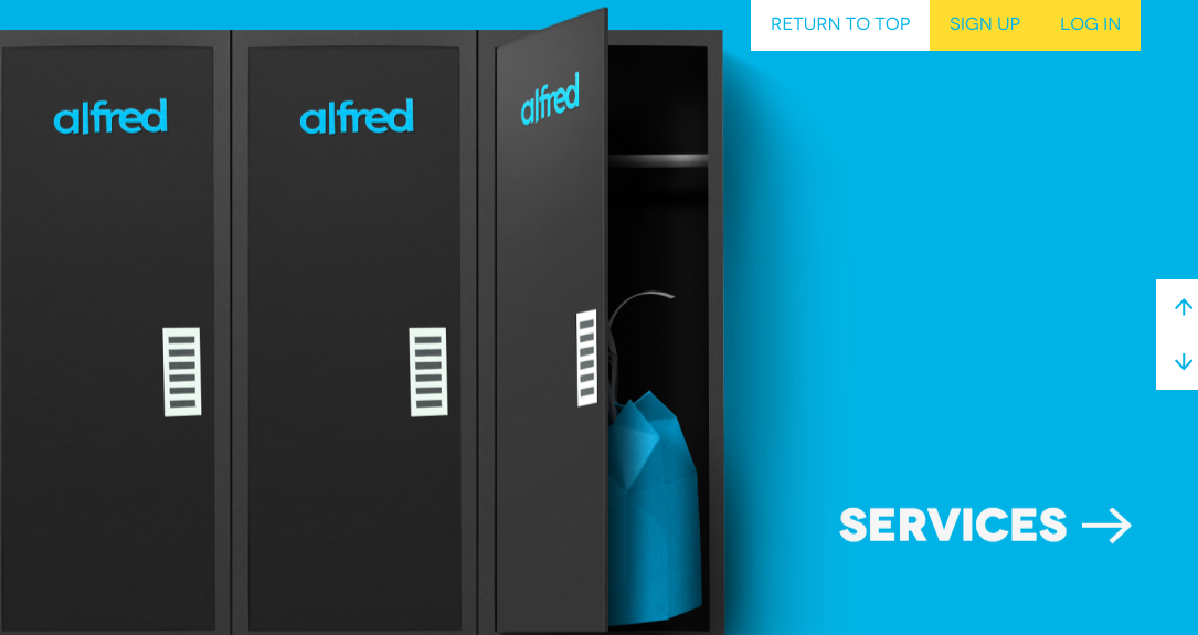 Best Websites of 2015 - Alfred Dry Cleaning Service