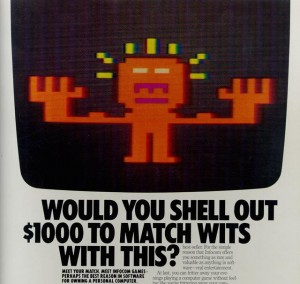 Infocom magazine ad - Would you Shell out $1000 to Match Wits With This?