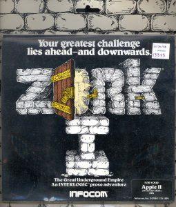 Infocom: Zork I packaging