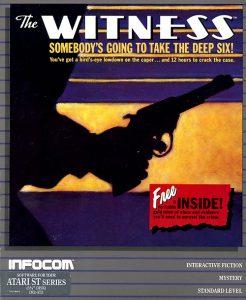 Infocom's The Witness, grey box packaging