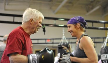 Rock Steady Boxing - Give A Damn Grant Winners