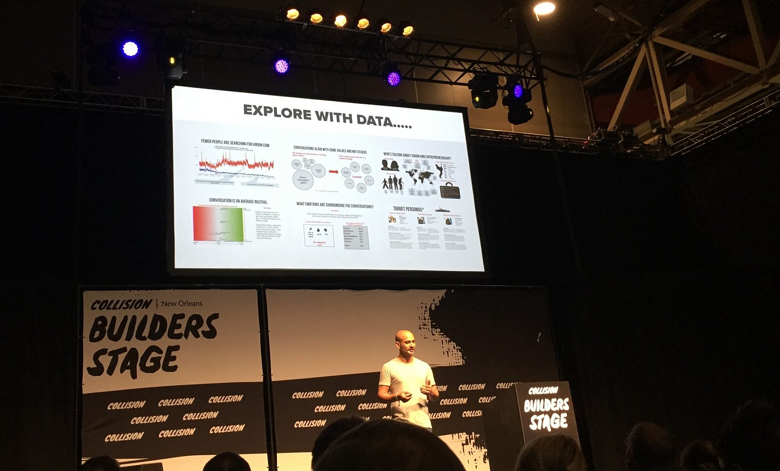 Collision Conference - Explore with data