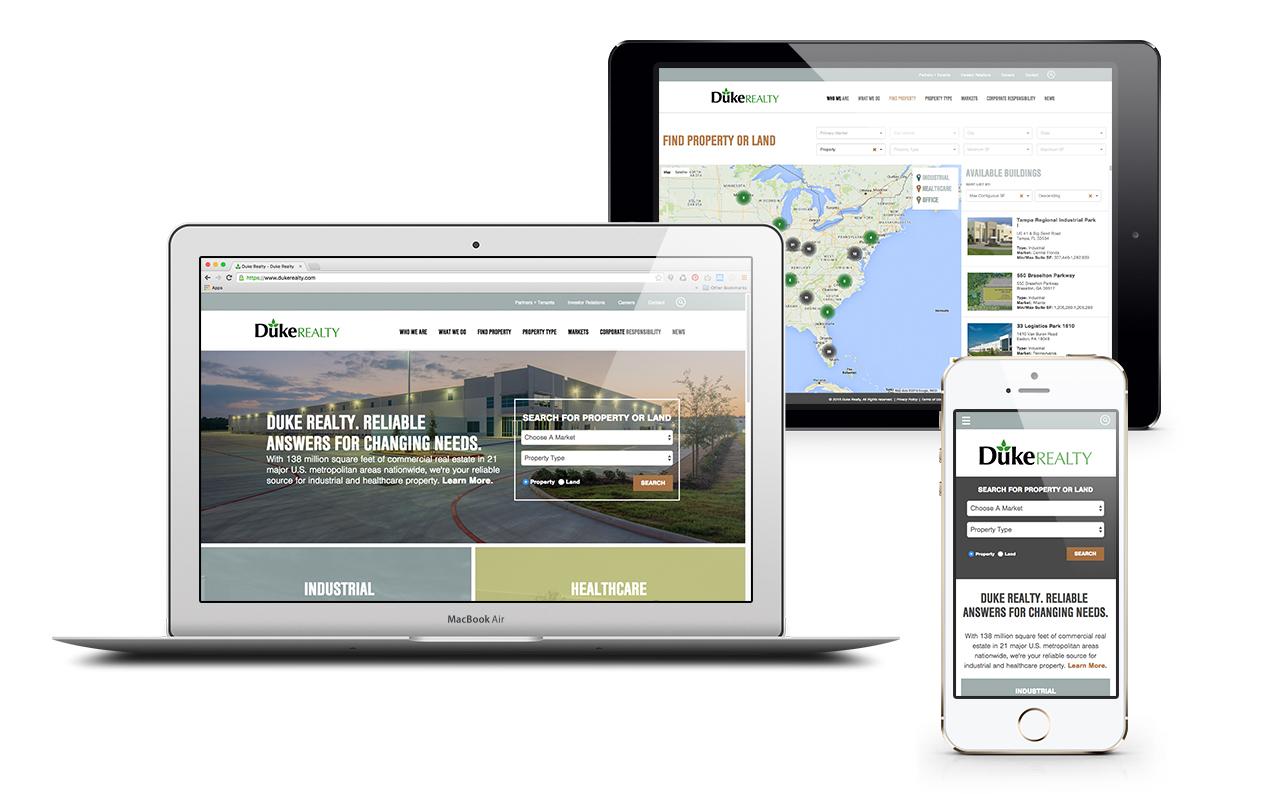 Duke Realty Website