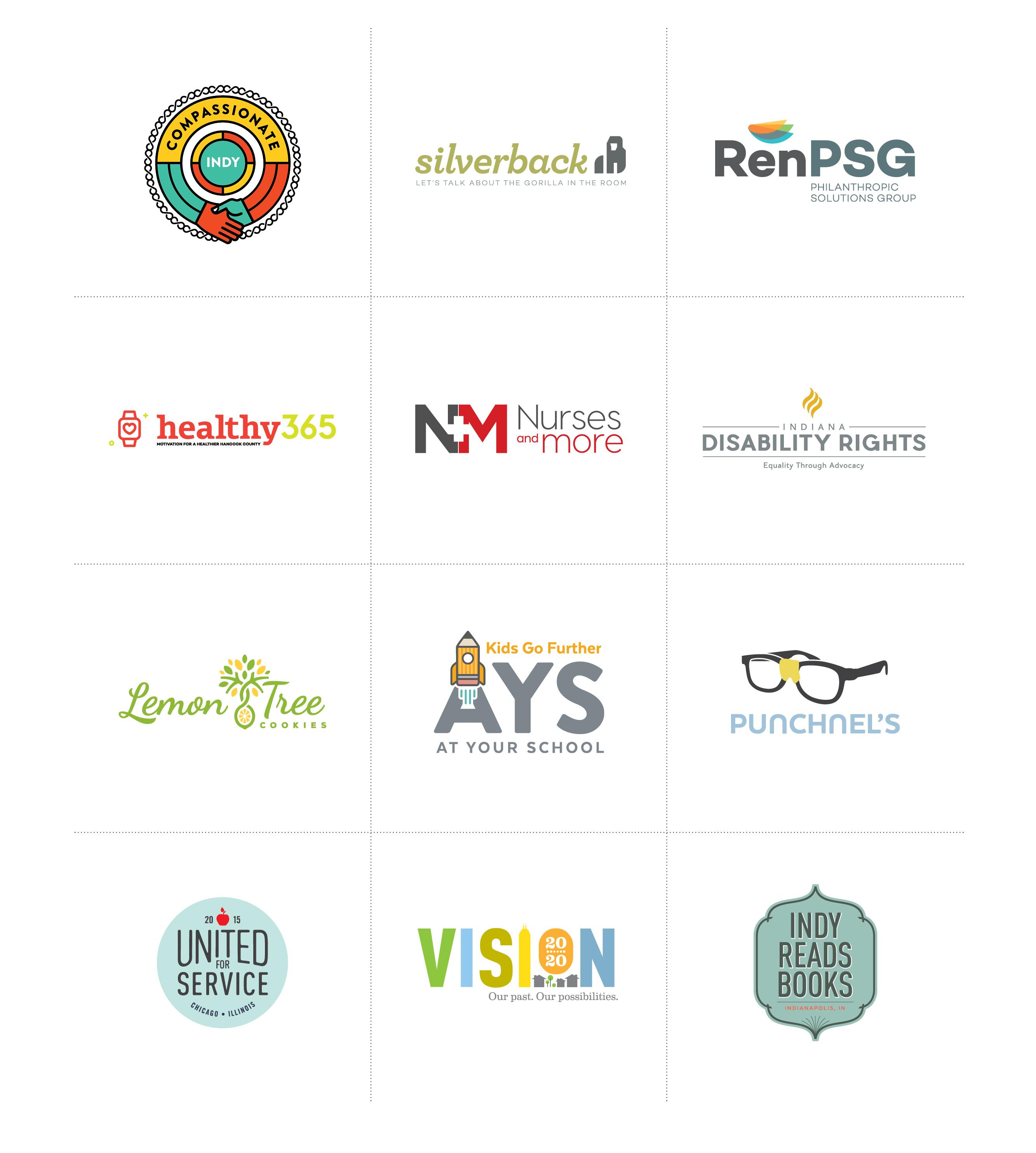 Logos we've designed