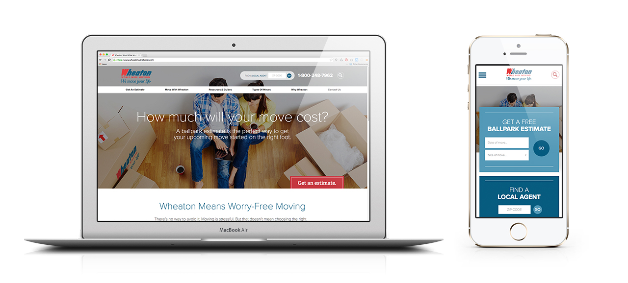 Wheaton Website and Mobile