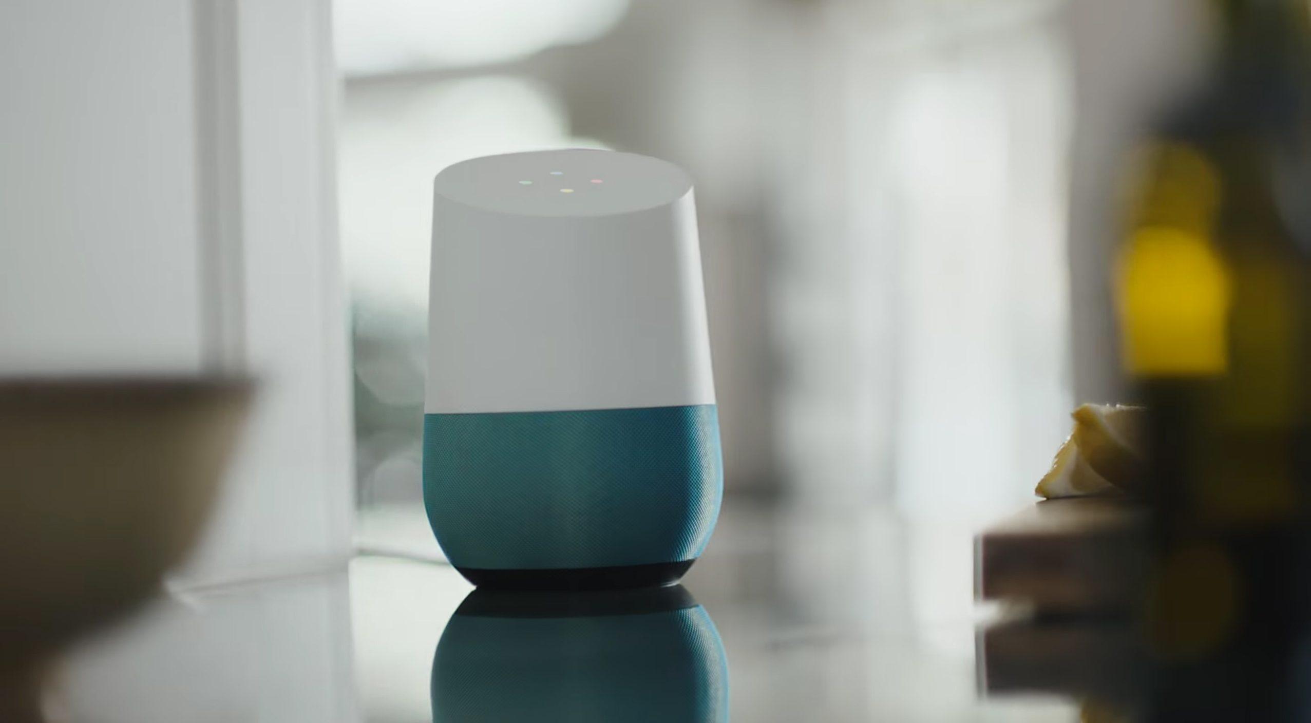 Google Home - voice command
