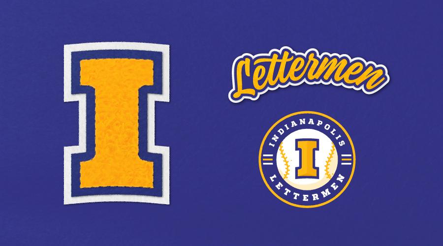 Indianapolis Lettermen Varsity Letter Brand Elements