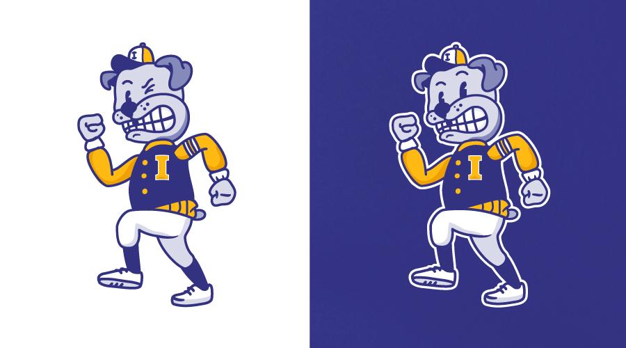 Indianapolis Lettermen Mascot Pat Trick