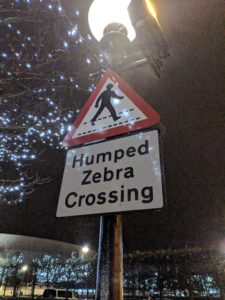 Humped Zebra Crossing