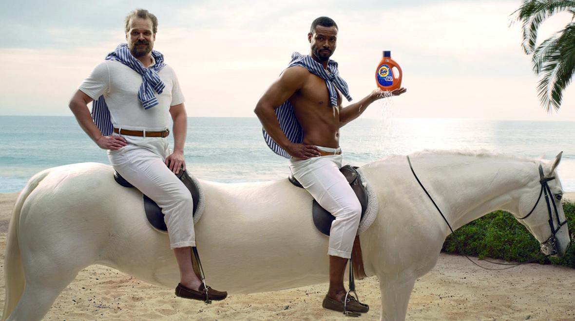 Tide Super Bowl ad
