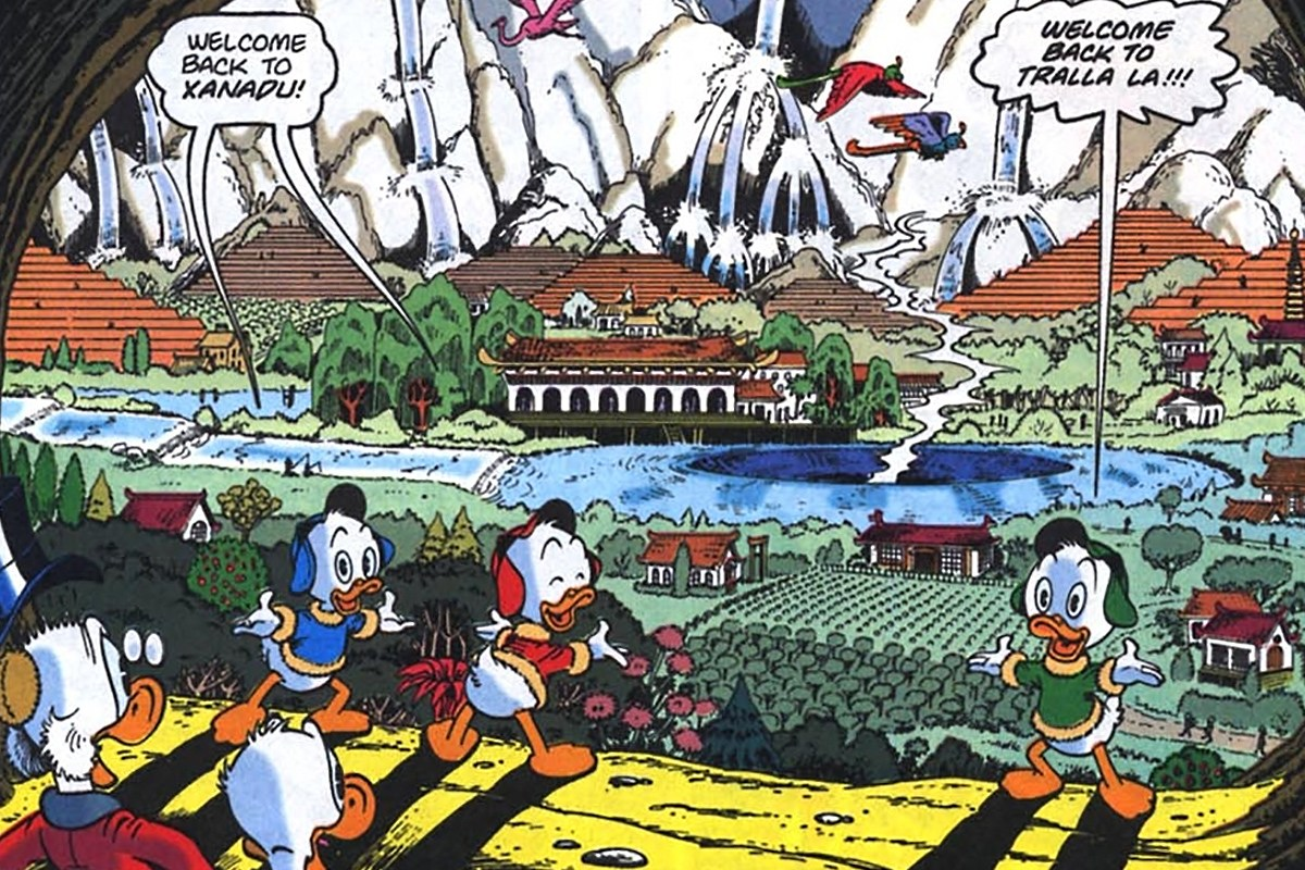 Donald Duck and creativity