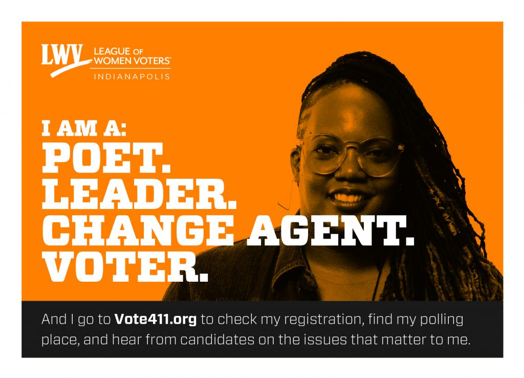League of Women Voters Indianapolis Voter Campaign Ad