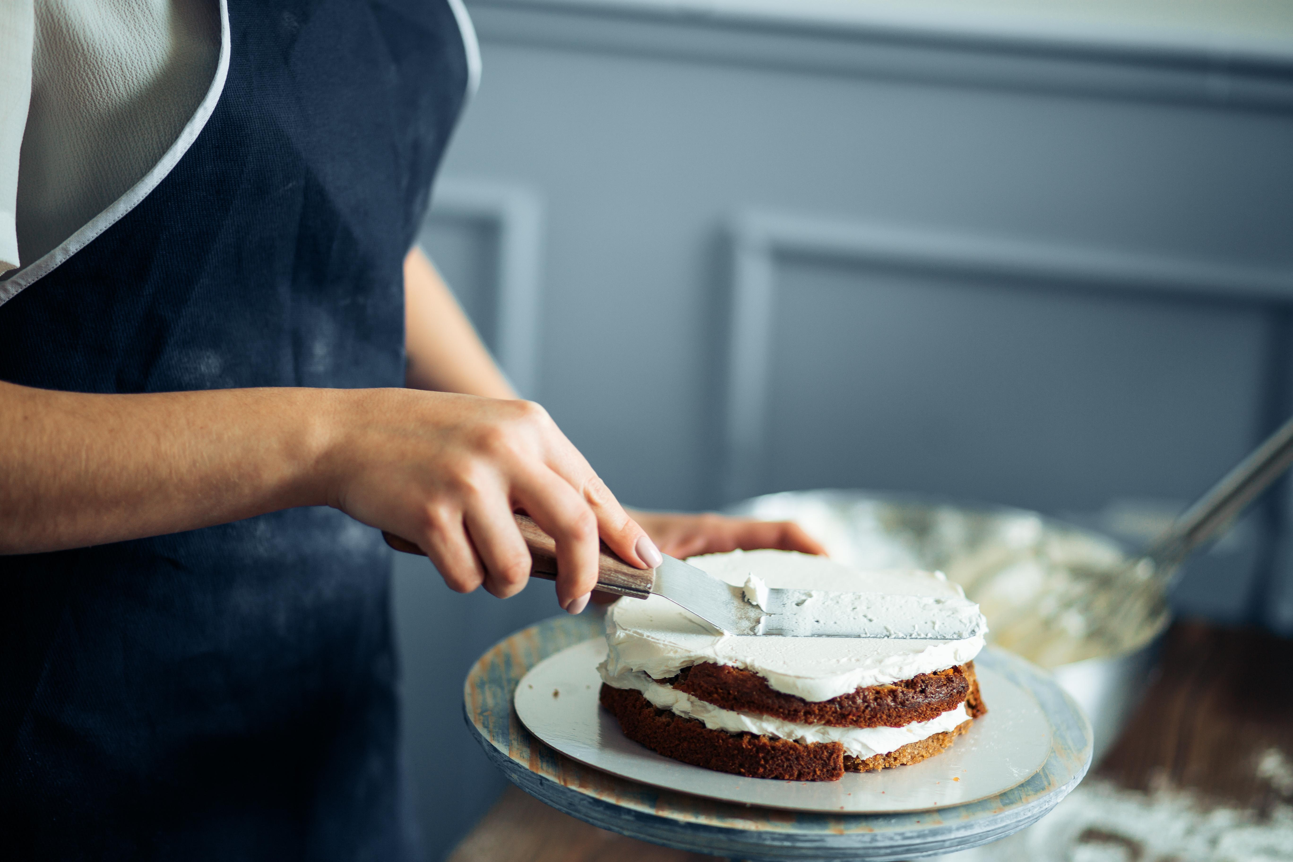 icing, cake