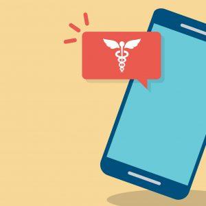 Healthcare social media graphic