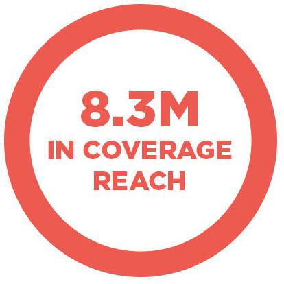 8.3M in coverage reach