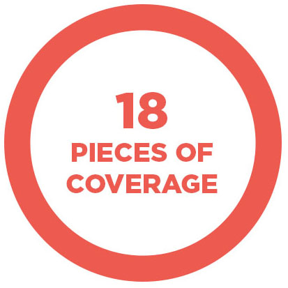 18 pieces of coverage