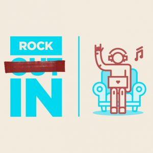 Rock IN illustration
