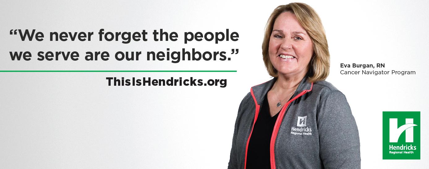 Hendricks Regional Health RN, Eva