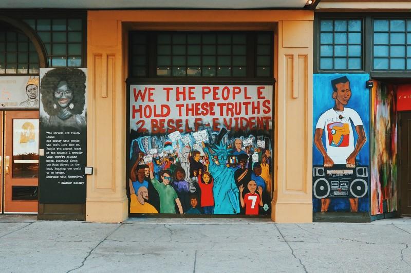 Gary Gee mural