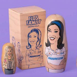 Flo's family nesting dolls