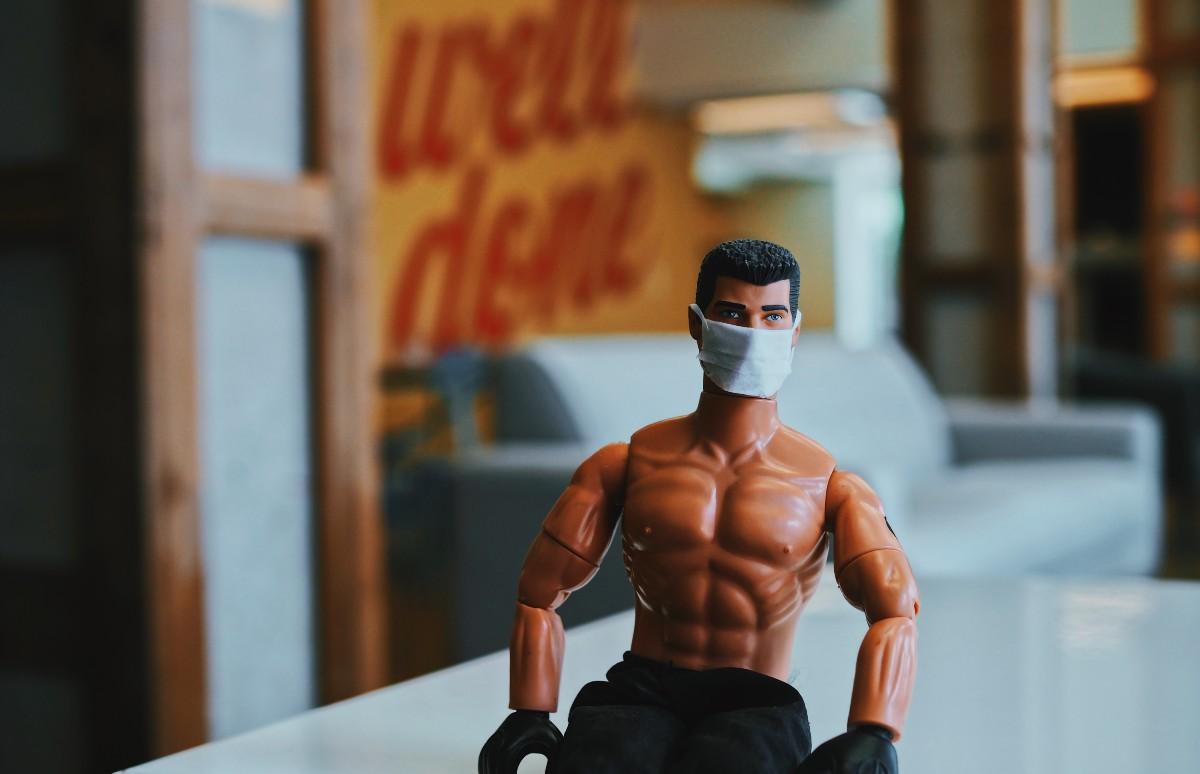 G.I. Joe with mask