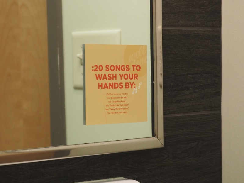 Songs to wash your hands by