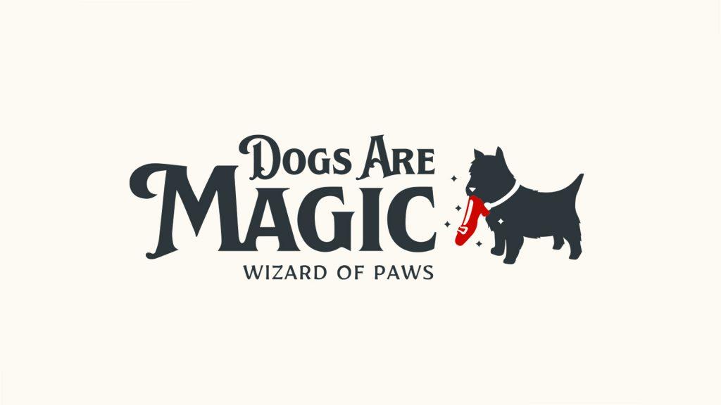 Dogs Are Magic fundraiser logo