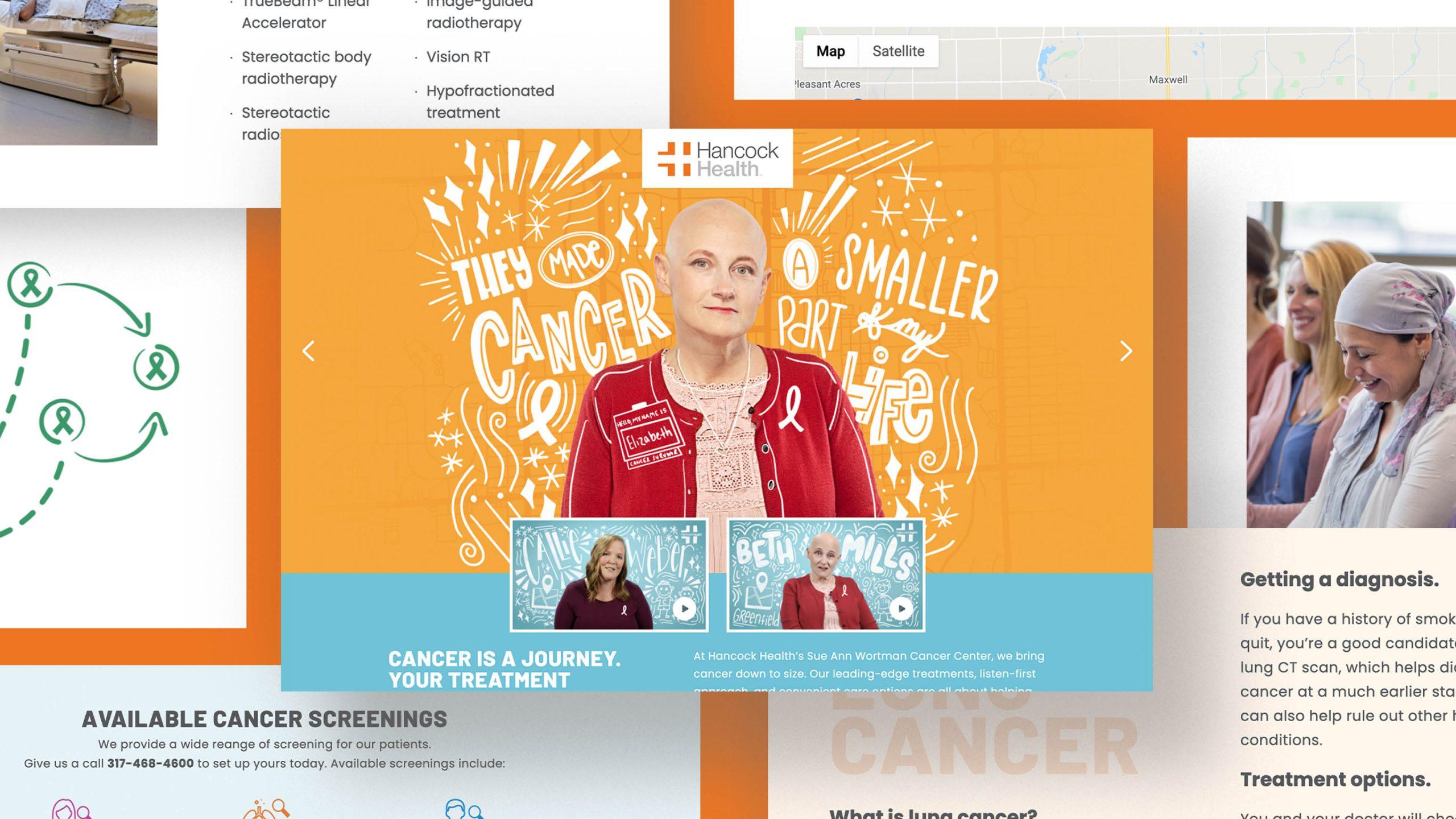 Hancock Health Cancer Website