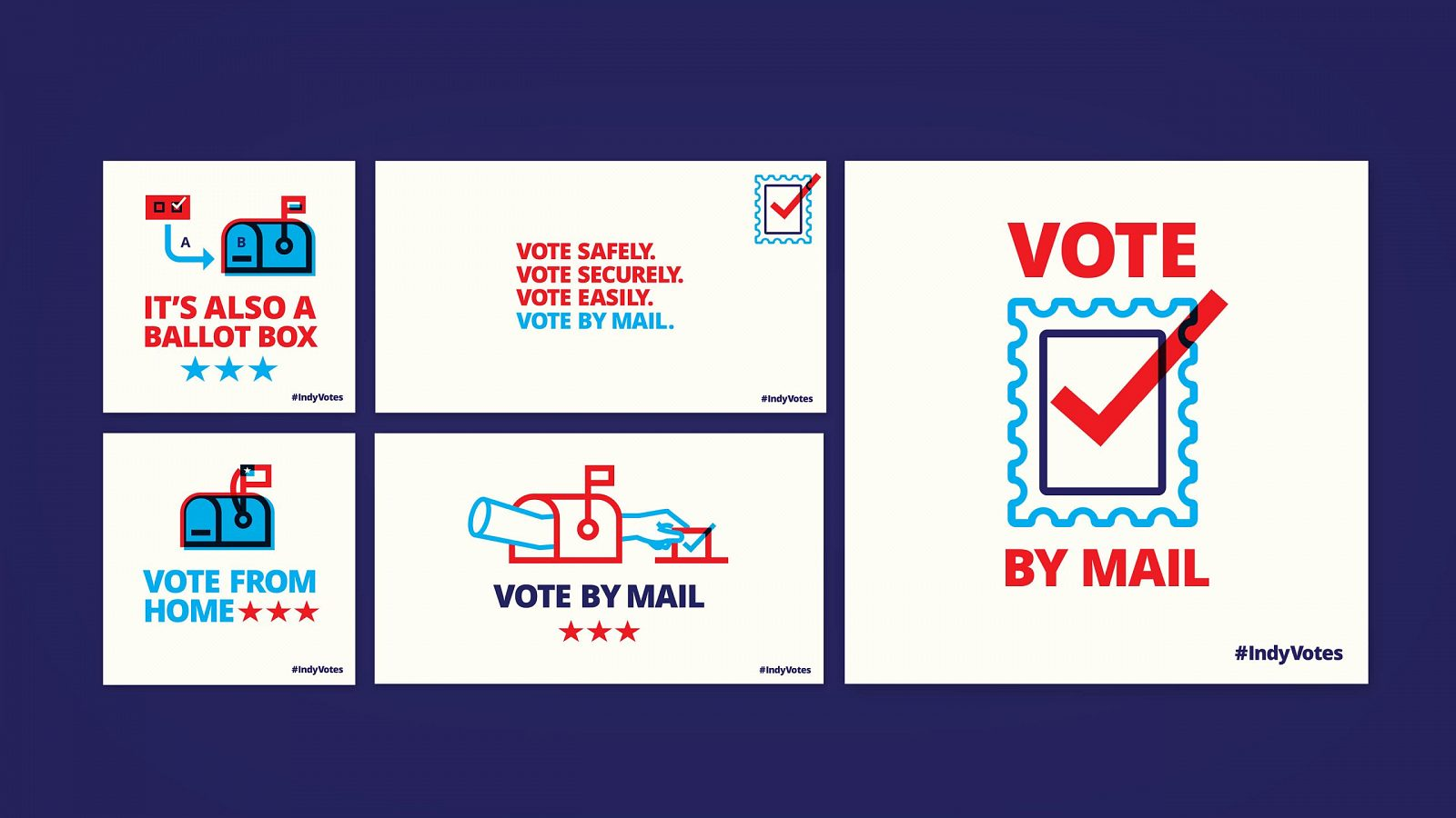 Marion County Election Board Vote By Mail Illustrations