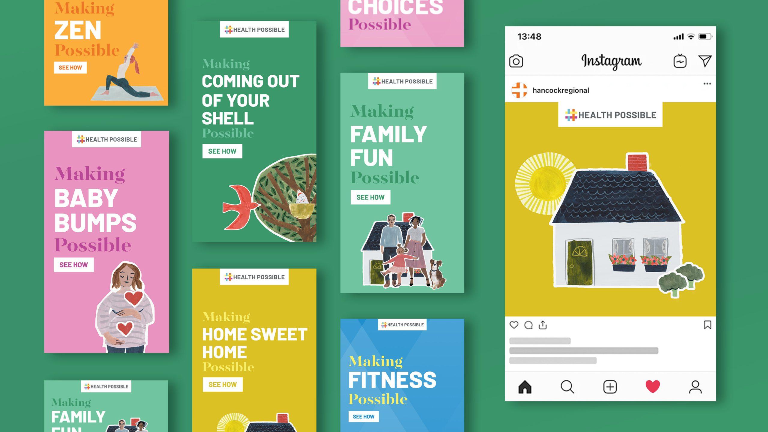 Health Possible Social Media