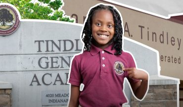 Tindley Accelerated Schools student