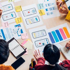 Group marketing brainstorm